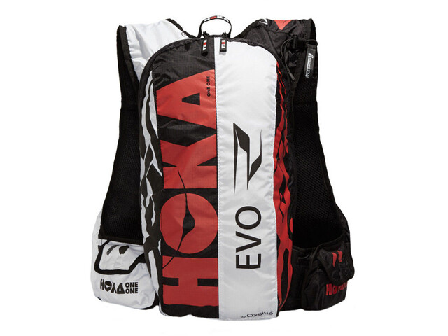 Hoka One One Evo R Rugzak Heren, black/white/red